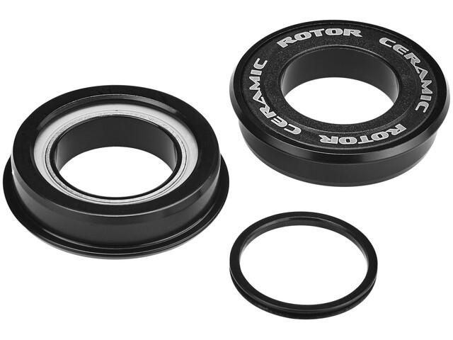 Rotor Press Fit 4124 Innenlager Ceramic Road BB86, MTB BB89 / BB92 24 mm schwarz
